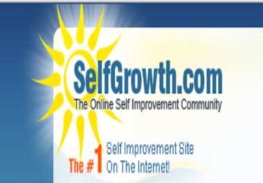 Publish a guest post on Selfgrowth. com DA DA: 77 PA 81 with Dofollow BAcklink