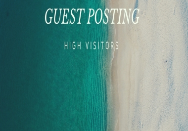 I Will Give You Guest Post To DA 19+ PA 26 Website, Without article,Do Follow Link