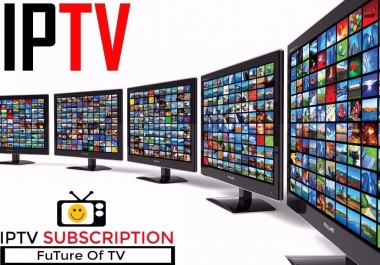 30 days Iptv Subscription For Smart TV And Smart Device
