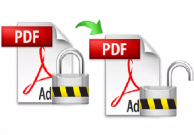 Unlock Secured PDF Files