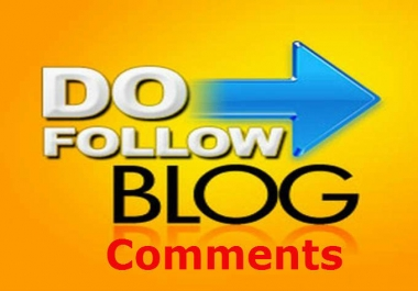 Provide High Authority niche relevant 50 High pr SEO Blog comments