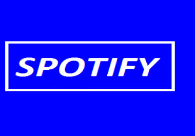 1200 USA UK spotify real plays very cheap rate