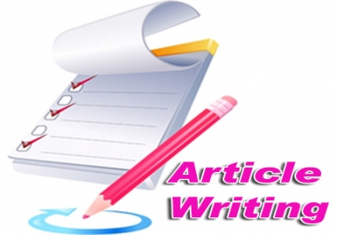 Write Original and effective content up to 500+ words for your website
