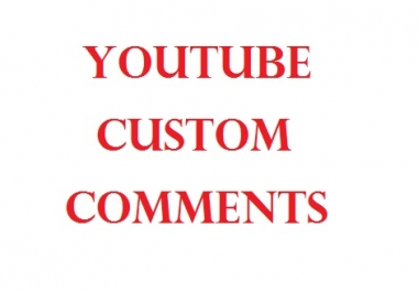 Manually Create 30+ YouTube Custom Comments For Your Video