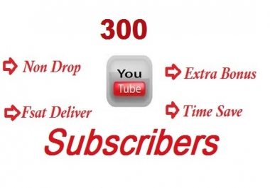 Get Buy 300+ YouTube Subscribers In Your Channel