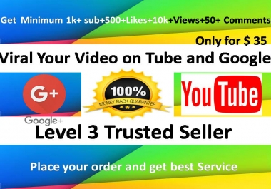 Provide you Viral or Rank Your Video on Tube and Google top