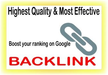 Boost your SEO on Google with 3000 high PR backlinks