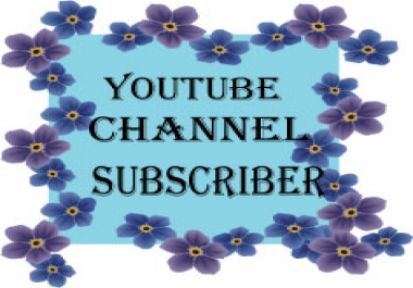100 High quality Youtube subscribers