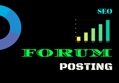 I Provide for you exclusively 20 manually forum posting Backlinks