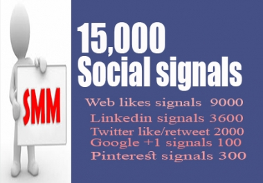 Great Offer 15000 Manually Top seo social signals Weblikes, Googleplus, Linkedin, Pinterest, Twitter