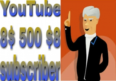 INSTANT provide 500+ NON-DROP channel SUBSCRIBERS very fast delivery within 2-9 hours