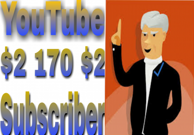 Fast provide  170+ Non-Drop YouTube subscriber very fast in 2-1 hours