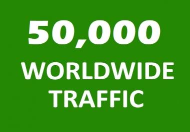 50,000  Website Traffic in 24 HRS