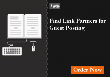 find 100+ quality link partners for Guest posting