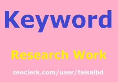 Keyword Research For Existing Or New Website/Blog