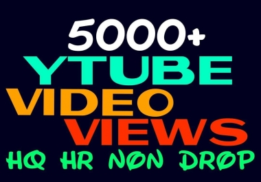 Promote Your Youtube videos to the Worldwide, HQ, Nondrop and Active Audiences