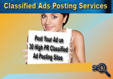 Classified Ads posting services