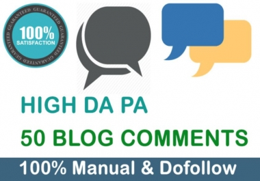 I Will Create Niche Relevant Blog Comments Backlinks