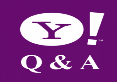 Manually create 12 Yahoo (Level 3) Answer Do-Follow Backlinks