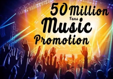 Promote your music go VIRAL in world of music