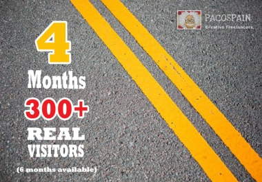 UNLIMITED genuine real Website TRAFFIC for 4 months - 6 months available -