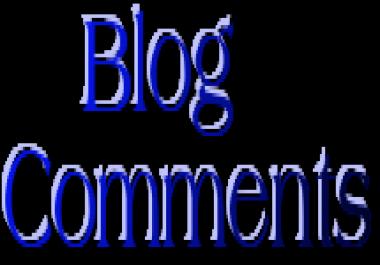 create 5000 blog comments PR0-PR6