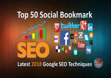 submit manually your websites social bookmark 50 Backlinks