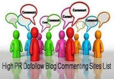 I can provide you 150 unique blog comment