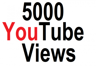 5000 5k High Retention  YouTube Views With 150 YT Like  Super Fast Delivery