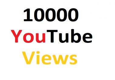 Get 10,000 High Quality Non Drop uTube Vi-ew*s Fully safe Guarantee