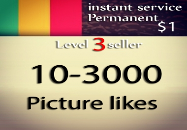 10-5000 likes on your picture within 12 hrs