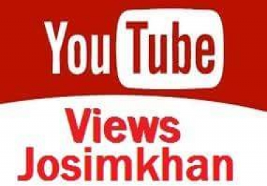 instant start 4001  To 5001 youtube video views 1-24 hours delivery