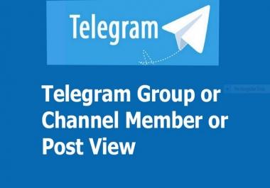 Buy Real & Active 5000+ Telegram Channel Membr or 3000+ Gr0up Membr