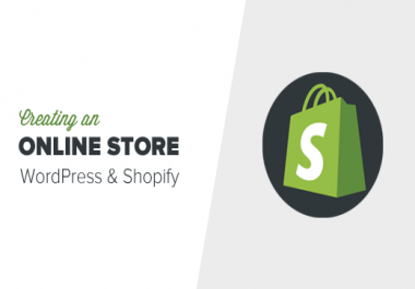 Setup a Complete Shopify Store and Do any Kind of Changes