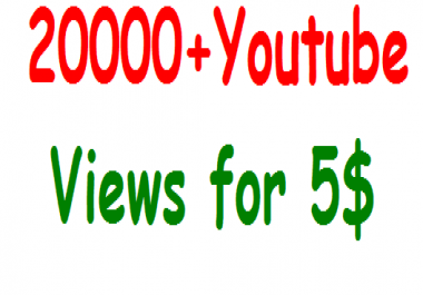Instant start 6000+ youtube high quality views