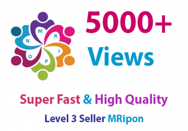 5000 HQ Social Media Photo Likes or 6000 Video Views