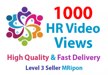 Add Instant 1000 High Retention Video Views