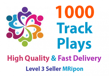 Get Instant 1000 High Quality Track Plays