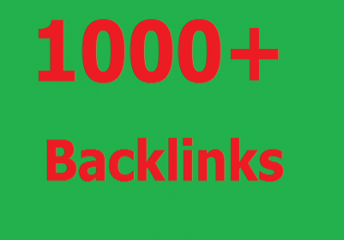 Give you 10+ backlinks to your website