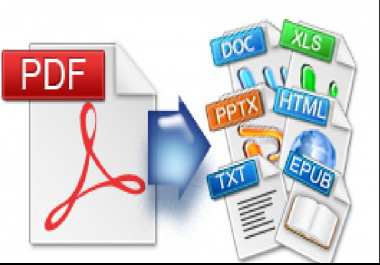convert pdf to word,excel,images,ppt,epub
