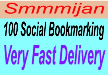 Get 80+ Pr9 to Pr7 Safe High Alexa Rank Social Bookmark Backlinks very fast delivery