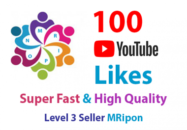 Get Instant 100 High Quality YouTube Video Likes