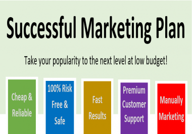 Successful Marketing Plan - Pack 500