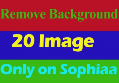 Background Remove 20 Photo Instant