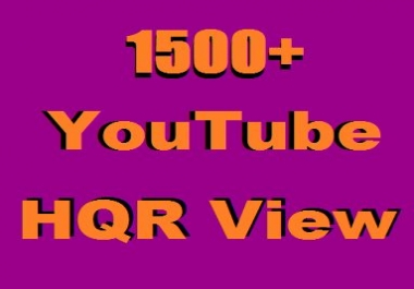 Add Instant 1500+ YouTube Real H.Q.R  VU SUPPER Fast Just