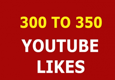 300 to 350 Youtube video promotion super fast LIMITED OFFER