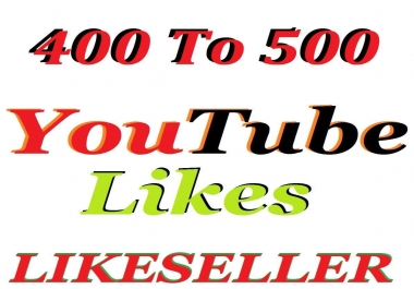 Add super fast 400 to 501 youtube video like 1-8 hours delivery