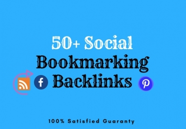 Create Top 50 Social Bookmarking Backlinks for $5