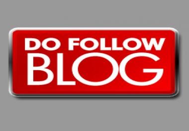 do High PR Blog Commenting 4PR6+8PR5+12PR4+20PR3 dofollow and auto approve, only