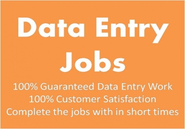 30 pages Data entry  do within 2 days